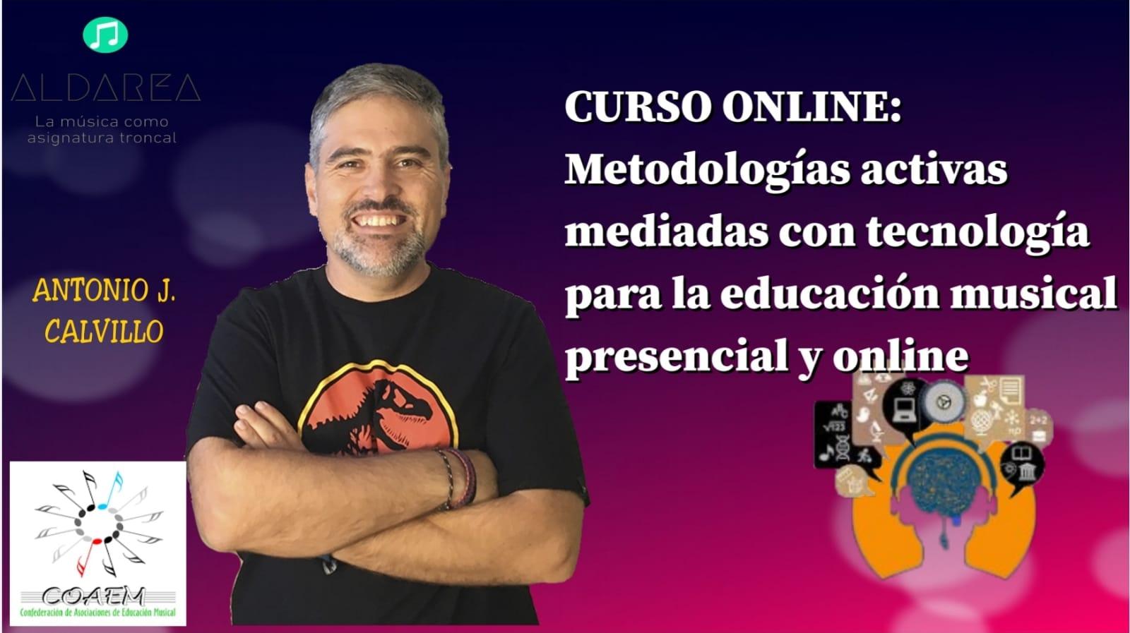 Metodologías activas mediadas con tecnología para la educación musical presencial y online.
